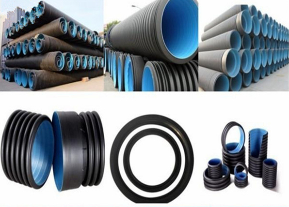 Corrugated sewage pipe hdpe corrugated sewage pipe sciox Images