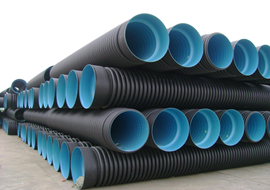 HDPE-Corrugated Sewage Pipe