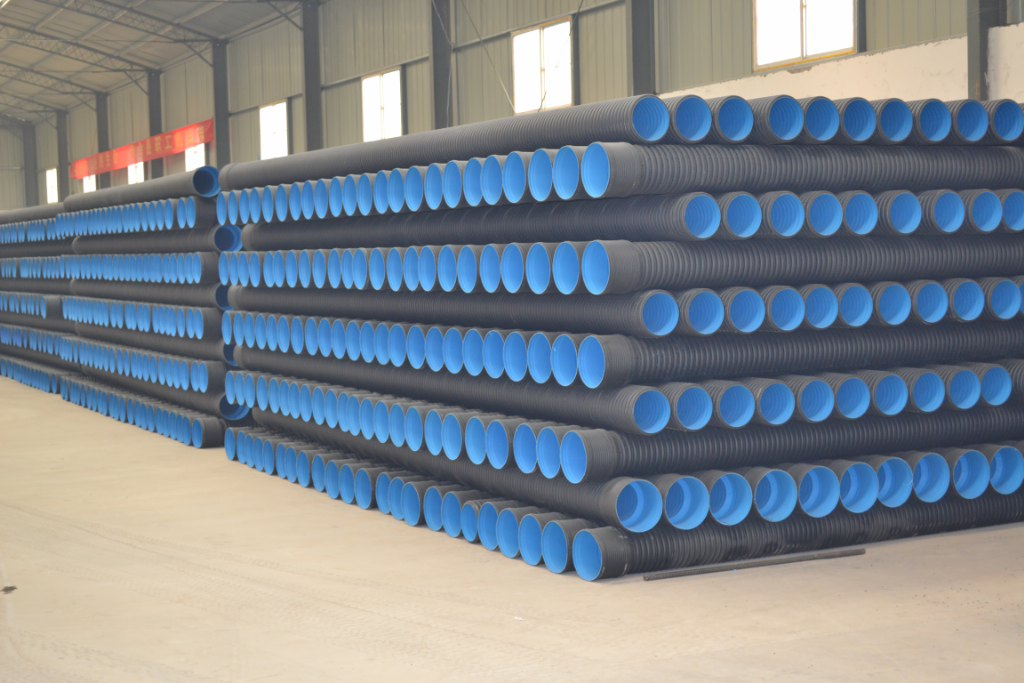double wall corrugated pipe for pollution discharge
